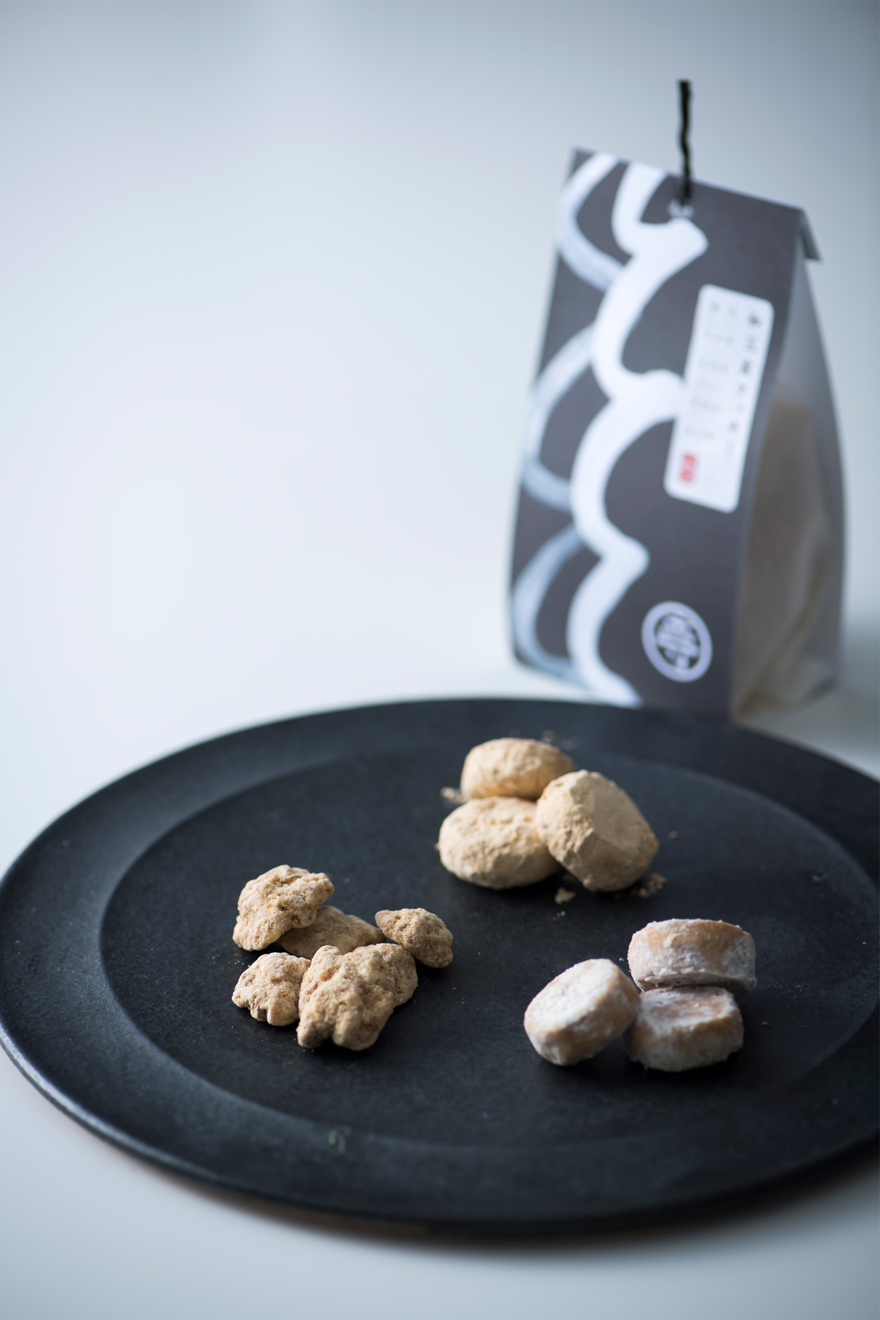 和三盆クッキー / きな粉クッキー / 胡桃ドラジェ